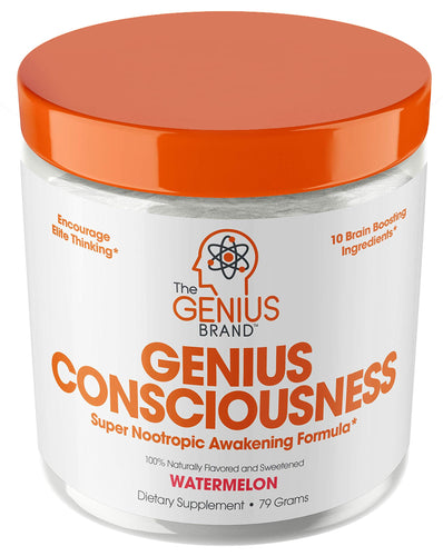 Genius Consciousness - Super Nootropic Brain Booster Supplement - Enhance Focus, Boost Concentration & Improve Memory