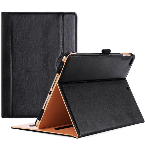 ProCase iPad 9.7 Case 2018/2017 iPad Case - Stand Folio Cover Case for Apple iPad 9.7 inch, Also Fit iPad Air 2 / iPad Air -Black - Omigod, Dibs!™