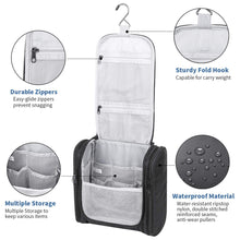Load image into Gallery viewer, Hanging Travel Toiletry Organizer Kit Portable Waterproof Cosmetics Bag