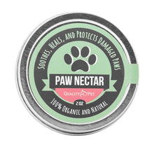 Load image into Gallery viewer, 100% Organic and Natural Paw Wax Heals and Repairs Damaged Dog Paws