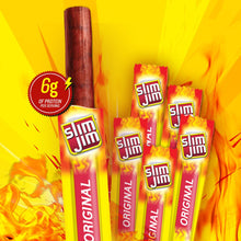 Load image into Gallery viewer, Slim Jim Snack-Sized Smoked Meat Sticks, Original Flavor, 120 Count (Pack of 1)