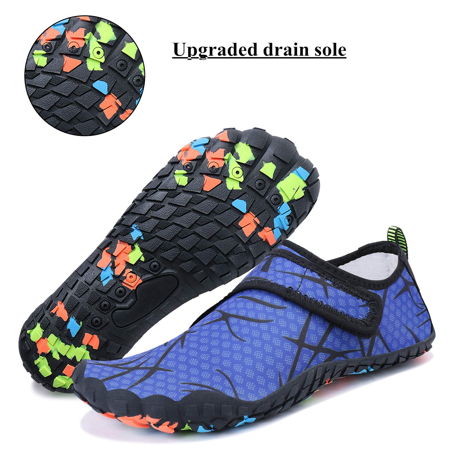 2ccd1a96608ee0 ... Load image into Gallery viewer, WXDZ Men Women Water Shoes Quick Dry  Barefoot Aqua Socks ...