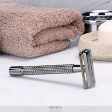 Load image into Gallery viewer, Weishi Nostalgic Long Handle Butterfly Open Double Edge Safety Razor