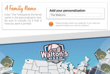 Load image into Gallery viewer, Personalized Ballparks Photo Map