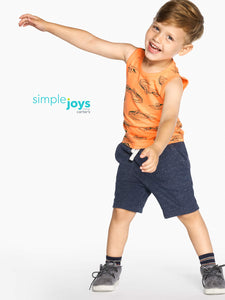Simple Joys by Carter's Boys' Toddler 3-Pack Tank Tops