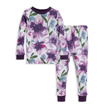 Load image into Gallery viewer, Burt's Bees Baby Girls' Pajamas, Tee and Pant 2-Piece PJ Set, 100% Organic Cotton