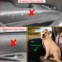 Load image into Gallery viewer, Pet Car Door Covers for Dogs - Waterproof Interior Protectors Window Panel Guards Shields from Doggie Scratching Drooling Vehicles Trucks SUV Inside Front Seat Side Safety Cloth - Omigod, Dibs!™