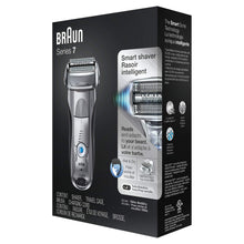 Load image into Gallery viewer, Braun Series 7 Electric Shaver for Men 7893s, Wet/Dry, Rechargeable and Cordless Razor, w/ Travel Case