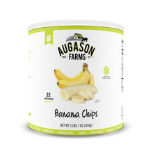 Load image into Gallery viewer, Augason Farms Banana Chips 2 lbs 1 oz No. 10 Can - Omigod, Dibs!™