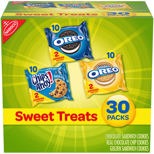 Nabisco Cookies Sweet Treats Variety Pack Cookies - 30 Snack Pack