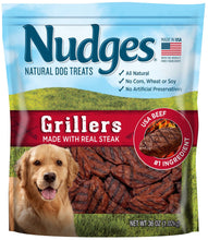 Load image into Gallery viewer, Nudges Steak Grillers Dog Treats, 36 oz - Omigod, Dibs!™