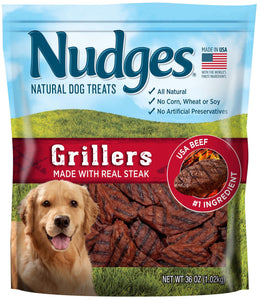 Nudges Steak Grillers Dog Treats, 36 oz - Omigod, Dibs!™