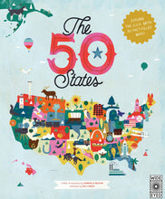 Load image into Gallery viewer, The 50 States: Explore the U.S.A. with 50 fact-filled maps!