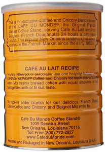 Cafe Du Monde Coffee Chicory, 15 Ounce Ground - Omigod, Dibs!™