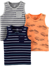 Load image into Gallery viewer, Simple Joys by Carter's Boys' Toddler 3-Pack Tank Tops