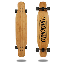 Load image into Gallery viewer, Magneto Longboard - Bamboo Dancing Longboard