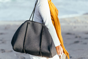 Casper & Coal Double Dutch Tote / Charcoal - Omigod, Dibs!™