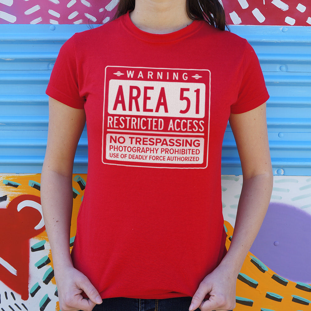 Area 51 T-Shirt (Ladies) - Omigod, Dibs!™