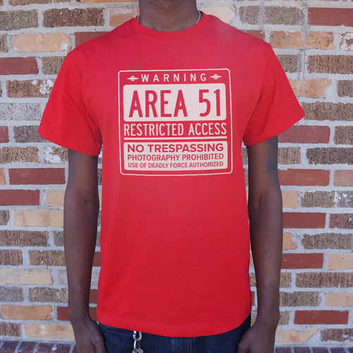 Area 51 T-Shirt (Mens) - Omigod, Dibs!™