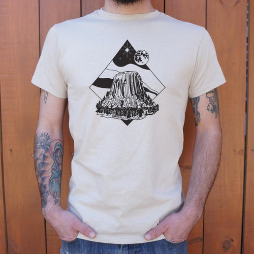 Devil's Tower T-Shirt (Mens) - Omigod, Dibs!™
