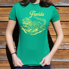 Load image into Gallery viewer, Florida Baby Gator T-Shirt (Ladies) - Omigod, Dibs!™