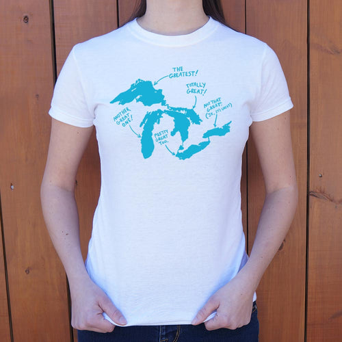 Great Lakes T-Shirt (Ladies) - Omigod, Dibs!™