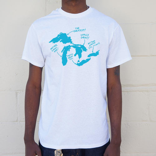 Great Lakes T-Shirt (Mens) - Omigod, Dibs!™