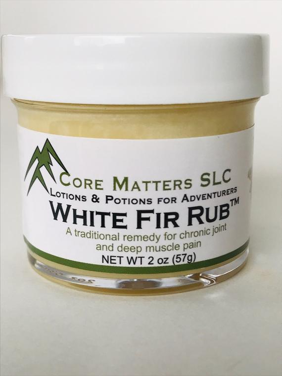 White Fir Rub - Chronic Joint and Deep Muscle Pain