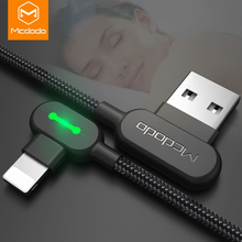 Load image into Gallery viewer, McDodo Angle USB Charger Cable