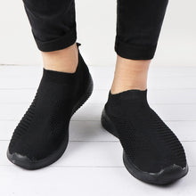 Load image into Gallery viewer, Women's Slip-On Mesh Knitted Shoes