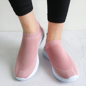 Women's Slip-On Mesh Knitted Shoes