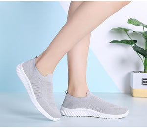 Women's Breathable Slip-On Mesh Shoes