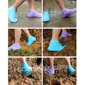 Silicone Reusable Waterproof Non-slip Shoe Covers