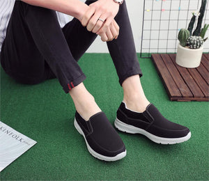 Men's Casual Canvas Slip-On Shoes