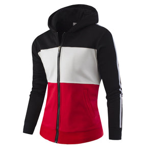 Men's Casual Street Wear Color Block Hoodies