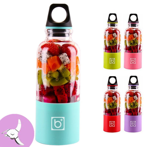 Portable 2-Blade & 4-Blade Juice Blenders