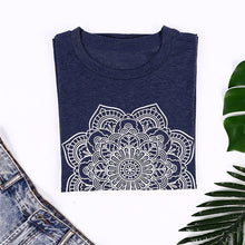 Load image into Gallery viewer, Geometric Flower T-Shirt