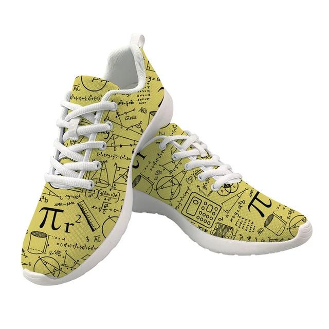 Women's Mathematics Air Mesh Shoes