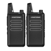 Load image into Gallery viewer, 1 - 10pcs Zastone X6 Mini Portable Handheld Radio UHF 400-470 MHz