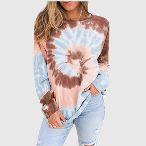Women's Tie-dye Long Sleeve T-Shirt