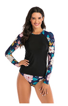 Load image into Gallery viewer, Women's Long Sleeve Rashguard Two Pieces Quick-Dry Surfing Suit
