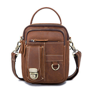 MVA Genuine Leather Messenger Bag - Omigod, Dibs!™
