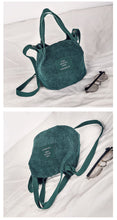 Load image into Gallery viewer, Vintage Corduroy Small Shoulder Bag