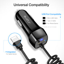 Load image into Gallery viewer, RAXFLY Universal USB Car Charger