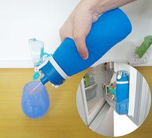 TEENRA 750ML Collapsible Silicone Water Bottle