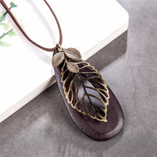 Load image into Gallery viewer, Leaf Pendant Necklace - Omigod, Dibs!™