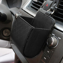 Load image into Gallery viewer, Car Vent PU Leather Hanging Tidy Pouch - Omigod, Dibs!™