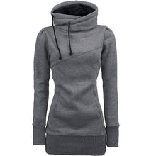 Load image into Gallery viewer, Women's Hooded Slim Pullover Sweatshirt