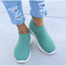 Load image into Gallery viewer, Women's Stretch Knitted Shoes