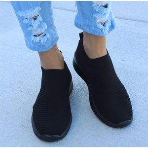 Women's Stretch Knitted Shoes